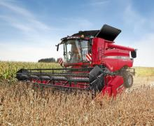 Moissonneuse Bateuse Case IH